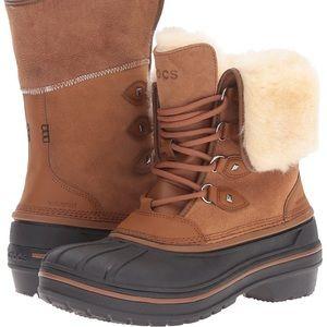 🥾 Crocs Women's AllCast II Snow Boot